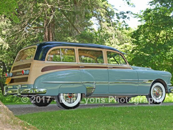 1952 pontiac chieftain eight deluxe station wagon web crop